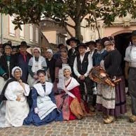 Le groupe folklorique Les Gats Do Bourbonnais