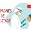 Grande campagne de dépistage COVID à Montluçon