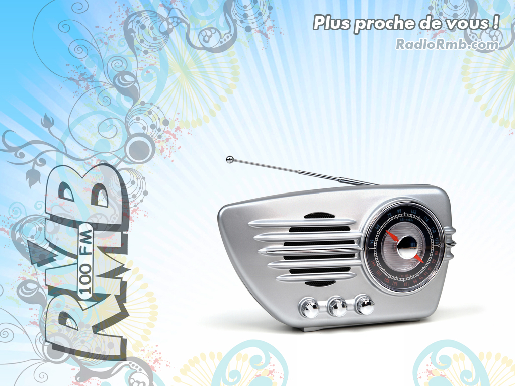 Fond d'�cran officiel de Radio RMB